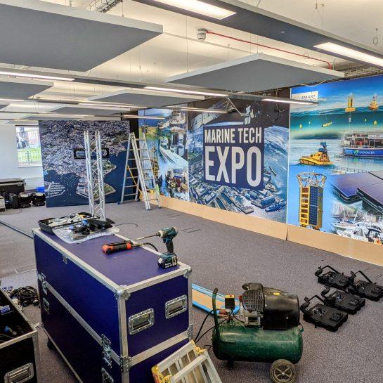 Inside the Marine Tech Expo studio