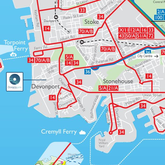 Plymouth Bus Routes