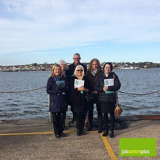 Jobcentre Plus visit to Oceansgate