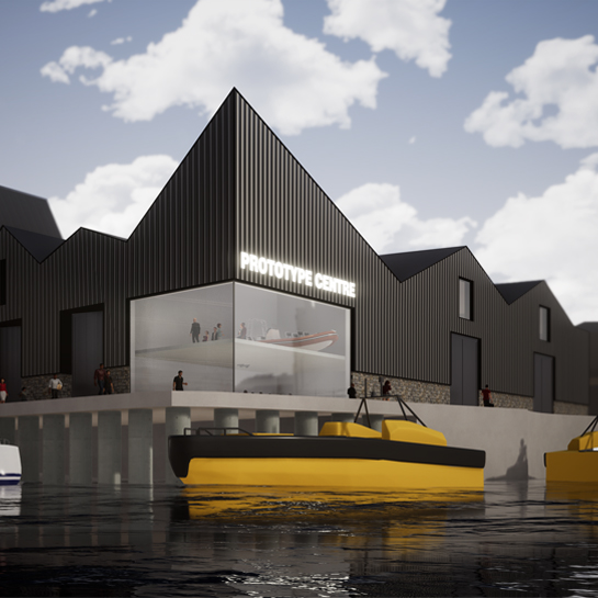 Marine Prototype Centre in Phase 3 of Oceansgate